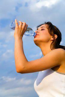 Water will help to lose weight