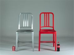 emeco chair made from Coke-bottle.