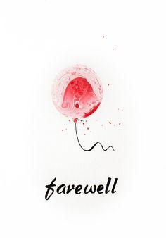 Farewell Postcard design Ink so - mariabozina Design Seeds, Postcard Design, Invitation Design, Ink, Artist, Prints, Poster, Artists, Color Palettes
