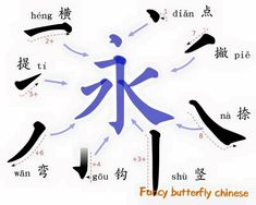 Know All strokes, write Chinese easily - Fancy Chinese Learning Center