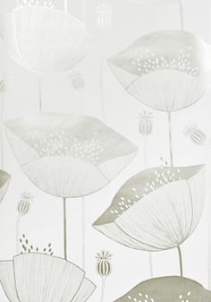 Poppy Jubilee Wallpaper by MissPrint. PEFC certified and printed in the UK