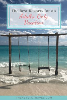 Nothing makes you want to travel more than being told you have to stay home. Where is the first place you will visit after is over? Here are five great beach resorts for the perfect adults-only vacation once you can travel again. Top All Inclusive Resorts, Couples Resorts, Best Resorts, Romantic Vacations, Romantic Getaways, Beach Vacations, Dream Vacations, Romantic Honeymoon, Vacation Spots