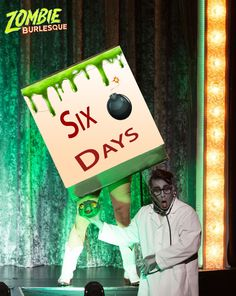 There's only 6 days left to take advantage of our exclusive offers! Get tickets now at www.vtheaterboxoffice.com #zombie #burlesque #tickets #Vegas #deals