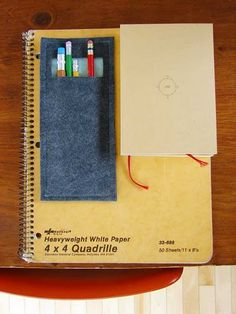 cool idea for back to school  notebooks