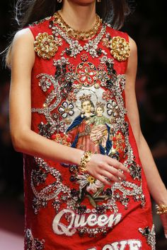8249e4db15 Detail / Dolce & Gabbana / Mailand / Frühjahr 2018 / Kollektionen / Fashion  Shows / Vogue