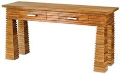 Waterfall Console design by Currey & Company