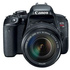 Shop Canon EOS DSLR Camera with EF-S IS USM Lens Black at Best Buy. Find low everyday prices and buy online for delivery or in-store pick-up. Nikon, Canon Dslr Camera, Video Camera, Secure Digital, Canon Digital, Digital Slr, Digital Cameras, Canon Eos, Cameras For Sale