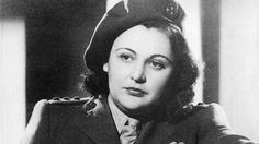 """Nancy Wake, SOE agent. Dubbed the """"white mouse"""" by the Gestapo."""