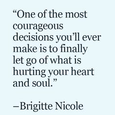 Need to be brave.                                                                                                                                                                                 More