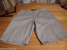 Men's Volcom walk casual shorts grey gray surf skate corpo class 38 NEW NWT logo