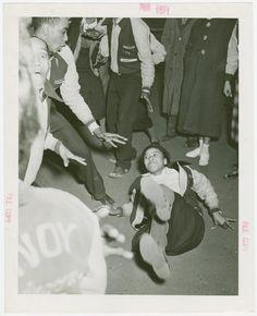 Savoy dancers New York World's Fair 1939-1940 records, 1935-1945, bulk (1939-1940). / VIII. Promotion & Development Division / VIII.B. News Dissemination / VIII.B.6. Photographs / Amusements / Dance