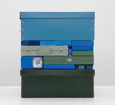 Galería - Arte y Arquitectura: coloridas esculturas e instalaciones al estilo Tetris por Michael Johansson - 12