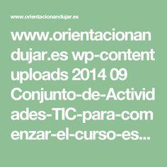 www.orientacionandujar.es wp-content uploads 2014 09 Conjunto-de-Actividades-TIC-para-comenzar-el-curso-escolar-de-forma-cooperativa.ppt