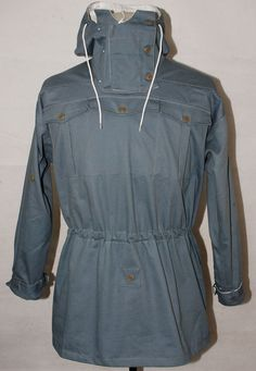 WWII GERMAN MOUSE GREY AND WHITE REVERSIBLE MOUNTAIN ANORAK SMOCK