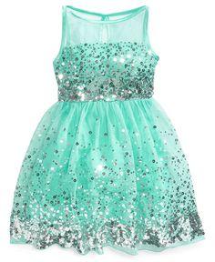 Ruby Rox Girls Dress, Girls Tulle Sequin Dress - Kids Girls 7-16 ...