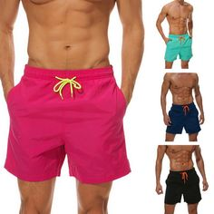 Reality And Ideals Bitcoin Babe Mens Swim Trunks Board Shorts