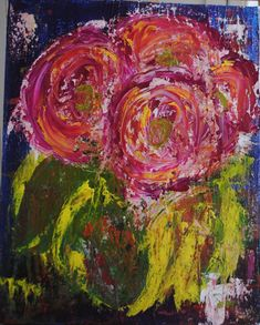 Abstract Floral, by Shawna McComber
