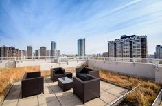 Amazing Buildings, Rooftop Terrace, Roof Top, Outdoor Furniture Sets, Outdoor Decor, Gloucester, Lounge Areas, Lofts, Great View