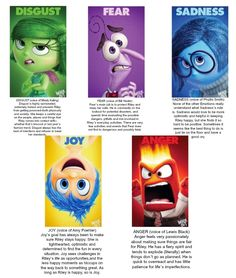 Disney/Pixar's Inside Out Shows Emotions & 6 Reasons to See It #InsideOutEvent - Everyday Shortcuts