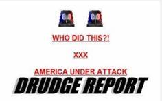 Drudge Report 9/11/01