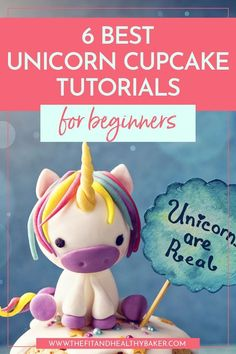 Looking for unicorn party ideas that'll wow the crowd? These magical unicorn cupcake tutorials are easy to make even if you're just starting to decorate cupcakes. Click through for 6 Easy Unicorn Cupcake Tutorials For Beginners. Cake Decorating For Beginners, Cake Decorating Techniques, Cake Decorating Tutorials, Decorating Ideas, Unicorn Cupcakes, Unicorn Party, Cupcake Art, Cupcake Cakes, Cupcake Ideas