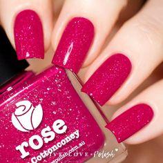 Picture Polish Rose Nail Polish