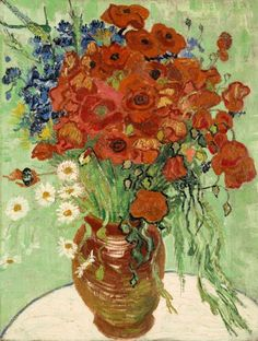 A rare Van Gogh still life could bring $50 Million at Sotheby's. Painted near the end of Van Gogh's life, the work is said to be the most important still-life at auction in 20 years