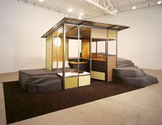 Image 4 of 6 from gallery of Frederick Kiesler Prize for Architecture and the Arts Winner: Andrea Zittel. Courtesy of Andrea Zittel Small Space Living, Art Of Living, Rhode Island, Frederick Kiesler, San Diego, Backyard Studio, Mid-century Interior, New Museum, Interesting Buildings