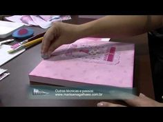 Mulher.com 09/08/2013 Marisa Magalhães - Conjunto caixas decoupage Parte 2/2 - YouTube