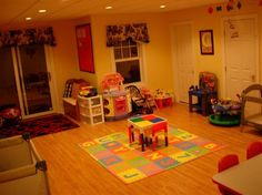 Home Daycare Layout.