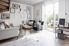 my home captured by karin: sitting room - my scandinavian home