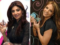 From Shilpa Shetty to Britney Spears, many fragrance companies get celebs to lend their names to their products to increase the company's 'brand' value. Check out which other celebrities have perfumes named after them.