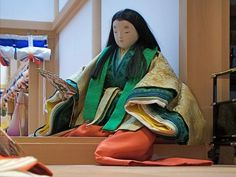 Heian Era, Heian Period, Japanese Colors, Japanese Art, Japanese Outfits, Traditional Art, Kyoto, Sari, Museum