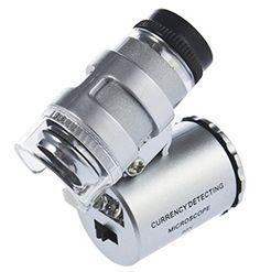 60x zoom led microscope