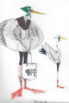 Image result for isaac mizrahi illustrations
