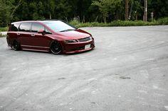 Honda Odyssey - Minivan stance