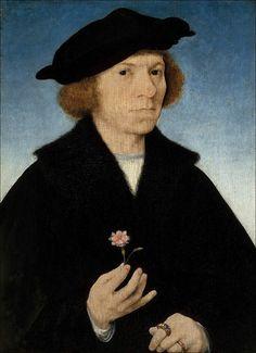 Joos van Cleve · Autoritratto · 1519 · Museo Thyssen-Bornemisza · Madrid