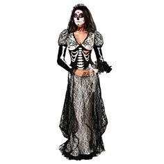 NEW Day Dead Bride Adult Costume Fancy Dress Australian Seller Dead Bride Costume, Halloween Bride Costumes, Fete Halloween, Halloween Dress, Adult Costumes, Costumes For Women, Halloween Stuff, Halloween Makeup, Halloween 2018