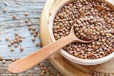 An 'amazing' trial on rats revealed the pulse, found in curries and soups, can slash blood...  #lentils