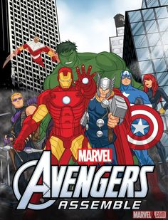 """""""Marvel's Avengers Assemble"""" and """"Hulk and the Agents of S.M.A.S.H."""" get premiere dates! Check out both series beginning this summer inside Marvel Universe on Disney XD!    Which series are you most looking forward to?    http://marvel.com/news/story/20256/avengers_hulk_animated_series_get_premiere_dates"""