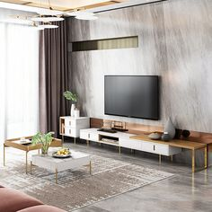 Square TV Cabinet And Coffee Table Home Decor Dyi, Decorating A New Home, Home Decor Styles, Tv Cabinet Design, Tv Unit Design, Living Furniture, Home Furniture, Tv Stand And Coffee Table, Mug Design