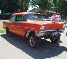 Classic Chevy Gasser Car Picture