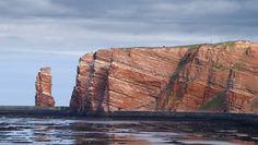 Helgoland - Germany. Wunderschöne Insel - trotz der Touristenschiffe kann man dort wunderbare - total ruhige! - Urlaubstage verleben, mit Robben, Badestrand, Sitzen im Grünen, unendlich weitem Blick, Möwengeschrei, alles vom Sanddorn, frisch gebratenen Fisch ... wirklich schön!