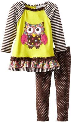 Rare Editions Toddler Girls Owl Legging Set, Yellow/Lime/Brown, 4T Rare Editions,http://www.amazon.com/dp/B00CV30BPS/ref=cm_sw_r_pi_dp_JLGCsb1R5DJZDPEN