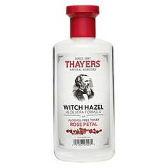 Thayers Witch Hazel Alcohol Free Toner in Rose Petal, $11.  Leaves my skin/pores clean without a 'tight' feeling.  Non-drying and has a great scent, too. ✔