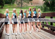 Cute senior shot next year! Volleyball Senior Pictures, Cheerleading Pictures, Senior Pictures Boys, Softball Pics, Volleyball Shirts, Senior Photos, Cheerleading Poses, Cheer Poses, Cheer Stunts
