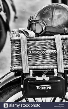 vintage triumph motorcycle accessories