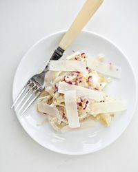 Fennel and Red-Onion Salad with Parmesan // More Recipes with Fennel: http://www.foodandwine.com/slideshows/fennel #foodandwine