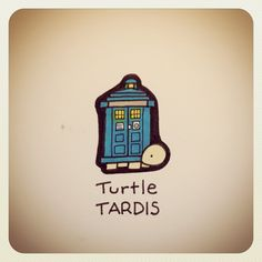 Turtle TARDIS #turtleadayjuly #doctorwho #tardis | Use Instagram online! Websta is the Best Instagram Web Viewer!