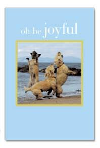 Birthday Card by Cardthartic ~ Oh be joyful...